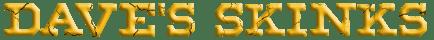 Dave's Skinks Text Logo (transparent bg) 40px